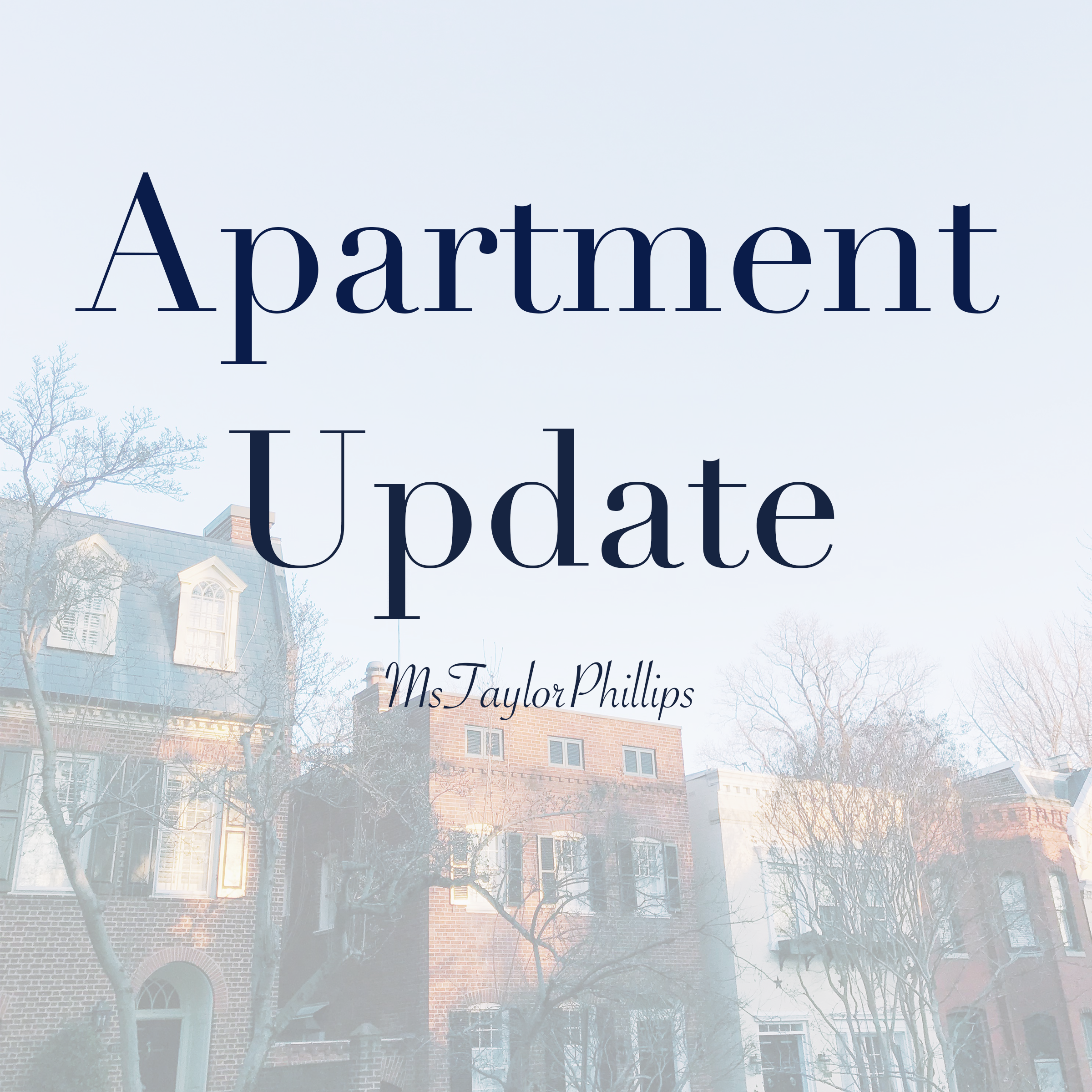 Apartment Update~ January